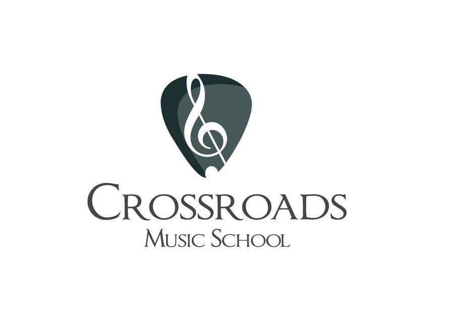 Konkurrenceindlæg #                                        80                                      for                                         Logo Design for Crossroads Music School