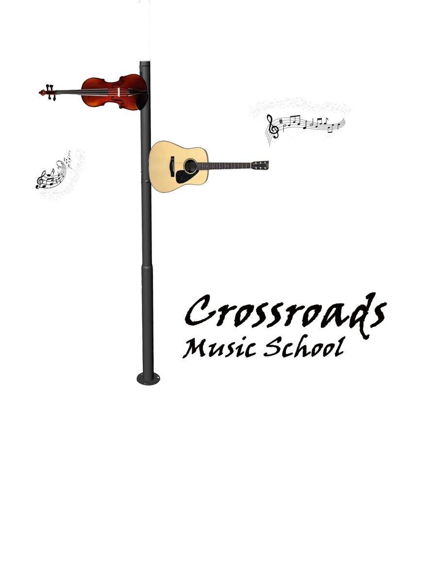 Konkurrenceindlæg #                                        32                                      for                                         Logo Design for Crossroads Music School