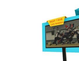 #30 for 3D LED Screen Banner Design by gumenka