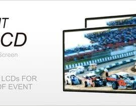#25 for 3D LED Screen Banner Design by adz7100