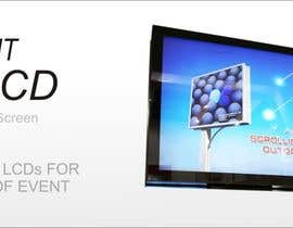 #26 for 3D LED Screen Banner Design by adz7100