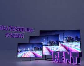 #27 for 3D LED Screen Banner Design by omarhegazyx