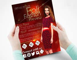 mostofafx tarafından Fall Fashion Preview Promotional Flyer & Postcard için no 21