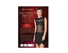 RodelGarcia tarafından Fall Fashion Preview Promotional Flyer & Postcard için no 2