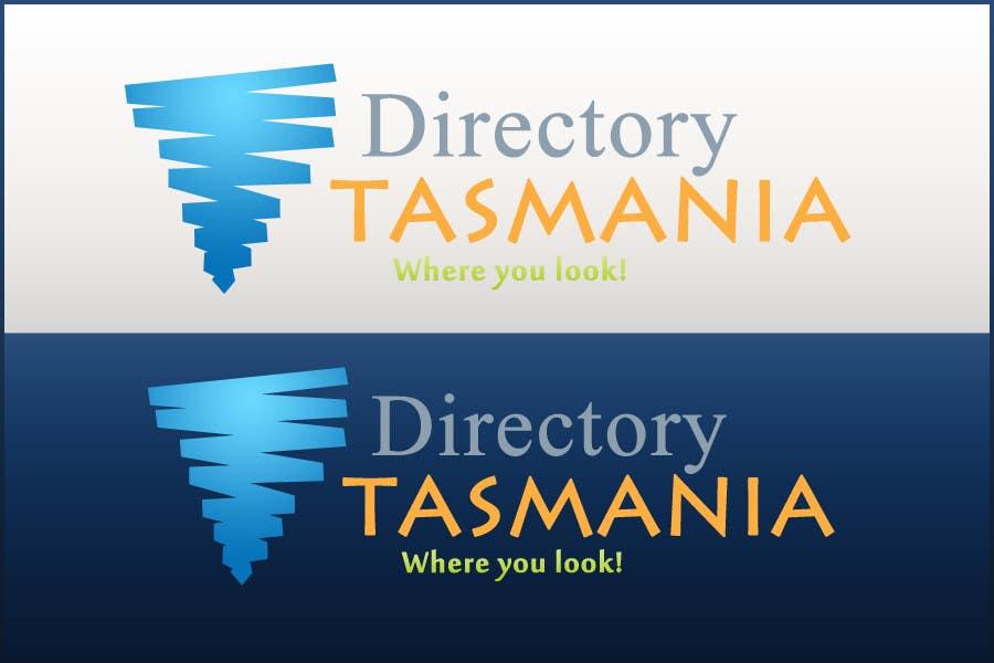 Inscrição nº                                         185                                      do Concurso para                                         Logo Design for Directory Tasmania