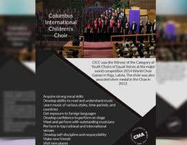 #47 for Design a Classy Professional-Looking Flyer for the Premier American choir by shafikshaon1