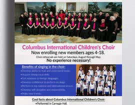 #51 for Design a Classy Professional-Looking Flyer for the Premier American choir by WillPower3