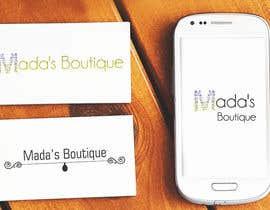 #44 for Logo Design - Mada's Butique by jhoa48