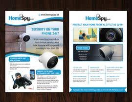 #24 for Design a two side A5 Flyer for home security installation company by flechero