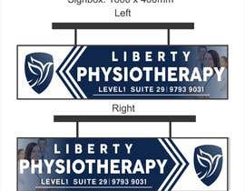 #90 for Design a Lightbox sign for our physiotherapy clinic by Amalbasti