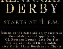 #1 for 11x17 Graphic for Kentucky Derby Party by ferrarigp