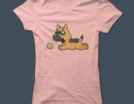 #118 for Design an awesome stylised Dog T-shirt by Sakib659