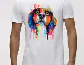 #122 for Design an awesome stylised Dog T-shirt by ataurbabu18