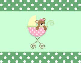#17 for Graphic Design: Baby Theme Background by milicabalaban