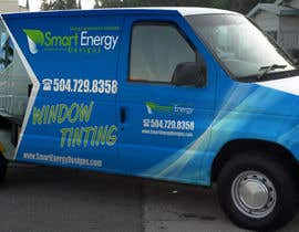 #49 for Vehicle Wrap for 2005 Ford E-150 Van by esatheboss