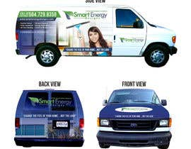 #20 for Vehicle Wrap for 2005 Ford E-150 Van by mbahweng