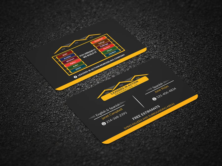 Contest Entry #134 for Design some Business Cards