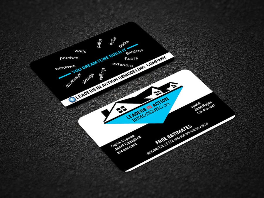 Contest Entry #50 for Design some Business Cards