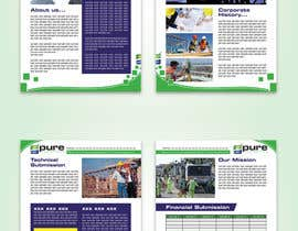 #63 for Design a 6 pg Professional Proposal Format in under 72 hours by karimulgraphic