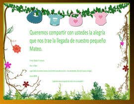 #21 for Desing a babyshower invitation by sonalfriends86
