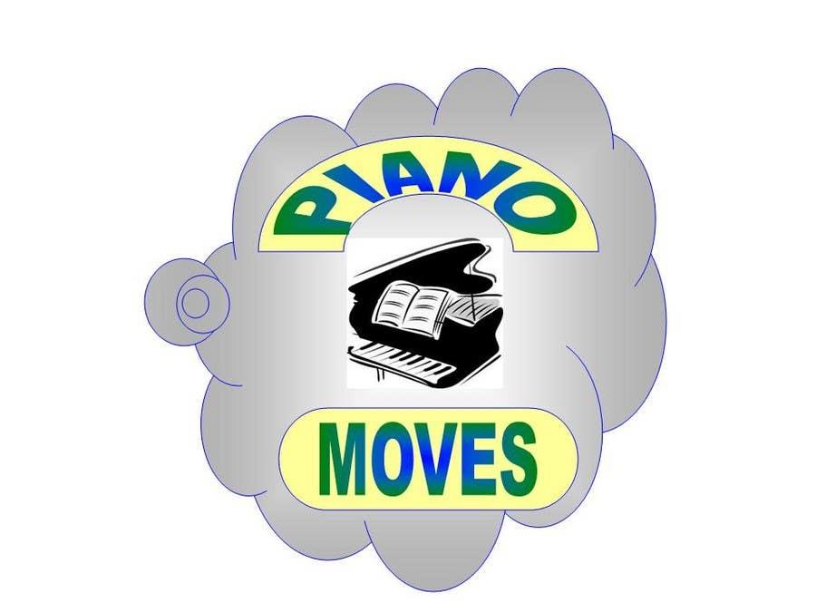 Συμμετοχή Διαγωνισμού #7 για Logo Design for Piano Moves
