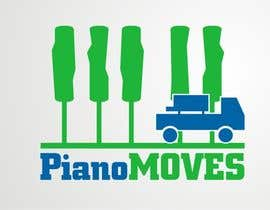 #203 para Logo Design for Piano Moves de dyv