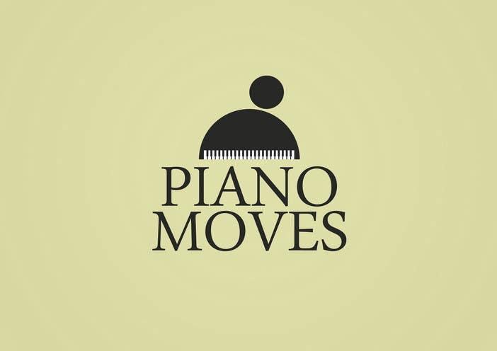 Συμμετοχή Διαγωνισμού #105 για Logo Design for Piano Moves
