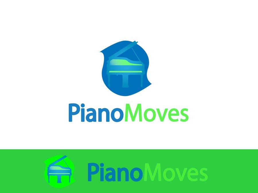 Συμμετοχή Διαγωνισμού #3 για Logo Design for Piano Moves