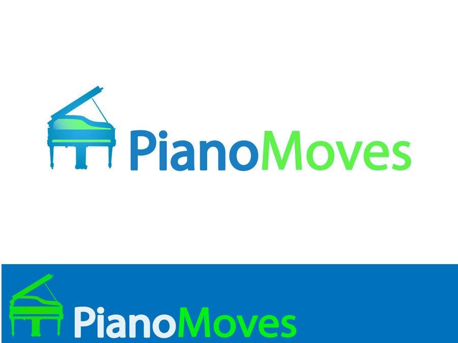 Συμμετοχή Διαγωνισμού #4 για Logo Design for Piano Moves