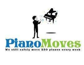 #206 para Logo Design for Piano Moves de jtmarechal