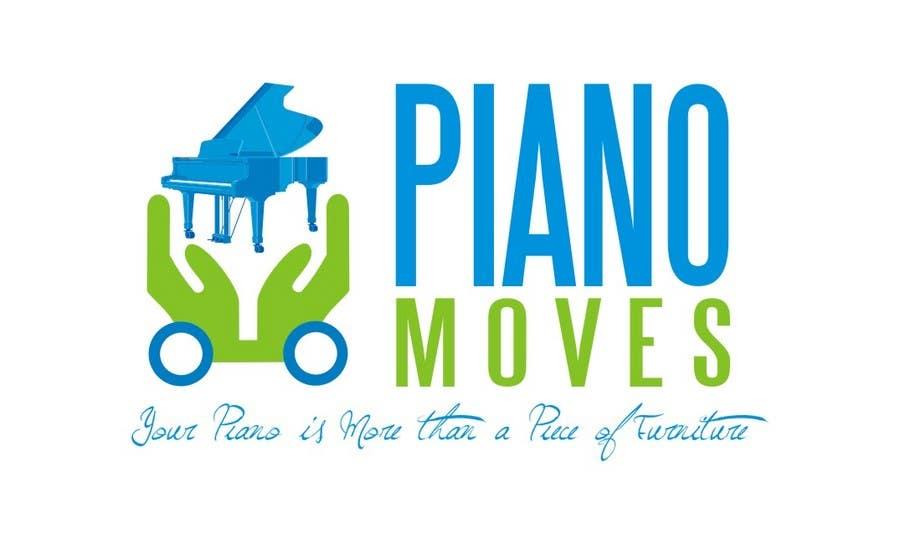 Συμμετοχή Διαγωνισμού #148 για Logo Design for Piano Moves