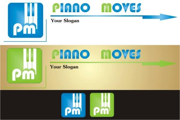 Contest Entry #21 for Logo Design for Piano Moves