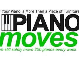 #200 for Logo Design for Piano Moves by zkos