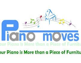 #204 pёr Logo Design for Piano Moves nga yebohari56