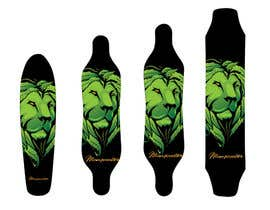 #15 for We need some Graphic Designs for longboard by Alinawannawork