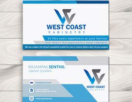 #36 for Design an Awesome business card by Kavinithi