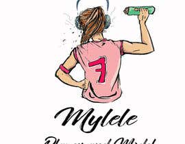 #59 for Logo design for youth girl basketball/ modeling (MYLELE) by puzcan