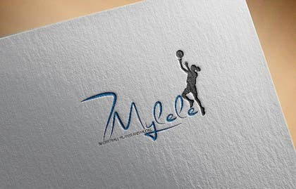 #9 for Logo design for youth girl basketball/ modeling (MYLELE) by Diva01