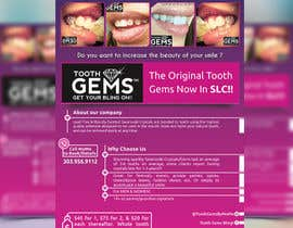 #52 for Design a Snazzy Dazzly Flyer for ToothGems By MoMo!! :)~ by HAFIZ779