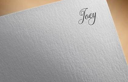 #49 pentru Joey Logo Design de către SHANAWAS7e