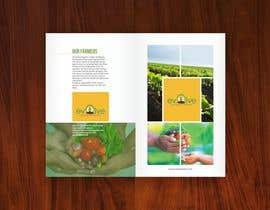 meenapatwal님에 의한 brochure design for organic vegetables and fruits을(를) 위한 #18
