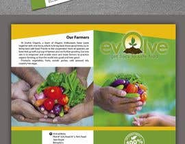 PabloSabala님에 의한 brochure design for organic vegetables and fruits을(를) 위한 #8
