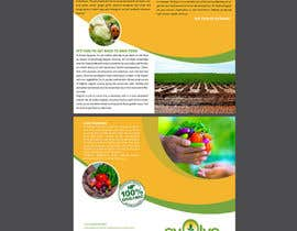 maidang34님에 의한 brochure design for organic vegetables and fruits을(를) 위한 #5