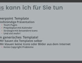 #9 for Neue Standortvorlage für PowerPoint by Katt27