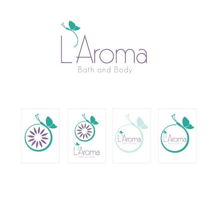 Inscrição nº                                         296                                      do Concurso para                                         Logo Design for L'Aroma Bath and Body