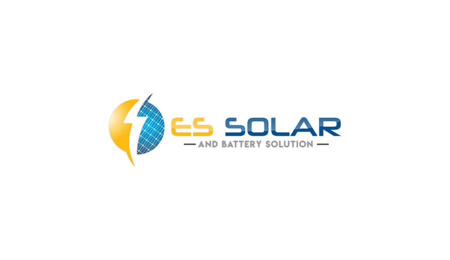 Contest Entry #213 for Logo for business - ES Solar and Battery Solutions