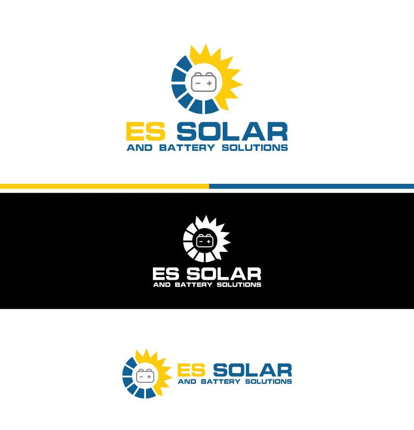 Contest Entry #243 for Logo for business - ES Solar and Battery Solutions