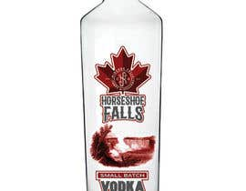 nº 15 pour Horseshoe Falls small Batch Vodka par frankp3r3z