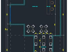#11 for Create a Motel Hallway in AutoCad by hapies