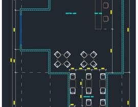 nº 11 pour Create a Motel Hallway in AutoCad par hapies
